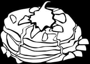 300x213 Pancakes Clip Art