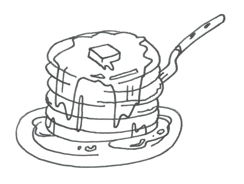 852x645 Perfect Pancake Coloring Pages Kids Day Download Give A Pig