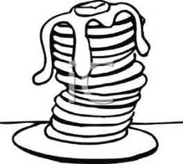 264x236 Pancakes Clipart Black And White