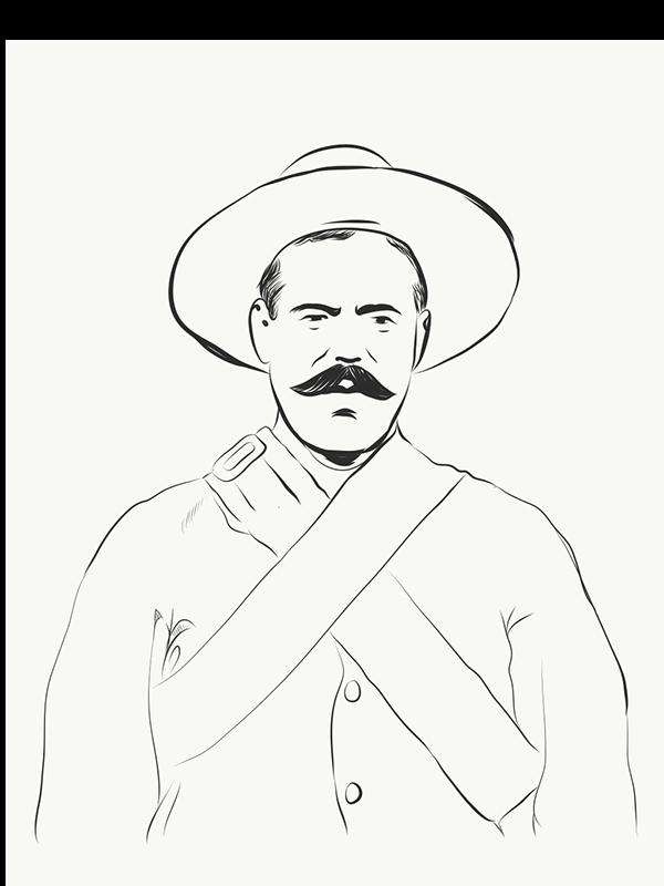 600x800 Pancho Villa By Antonio Romero On Wacom Gallery