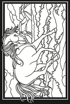 236x349 Welcome To Dover Publications Creative Haven Horses Draw