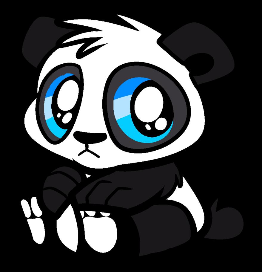 878x910 Cute Panda Bear Art Cute Animals Panda, Bear Art