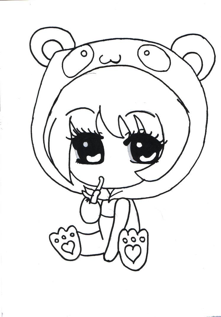 Panda anime drawing at getdrawings com free for personal
