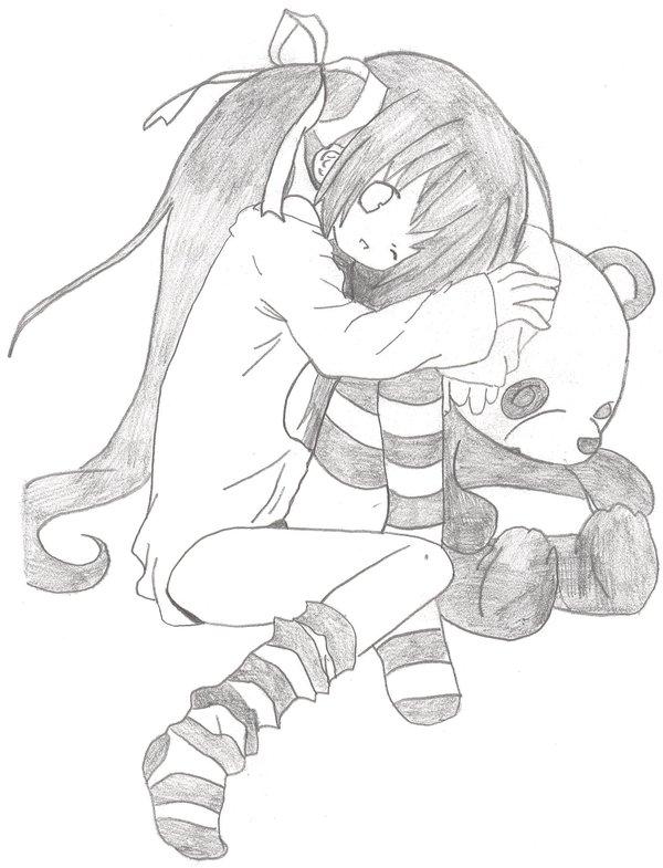 600x785 I Love You Panda Bear By Madhatter55
