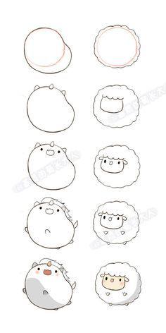 236x472 Kawaii Drawings