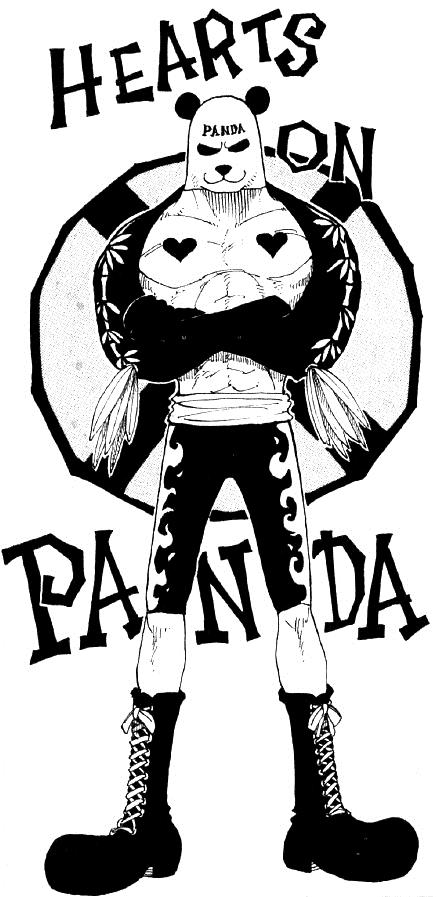 437x897 Pandaman One Piece Wiki Fandom Powered By Wikia