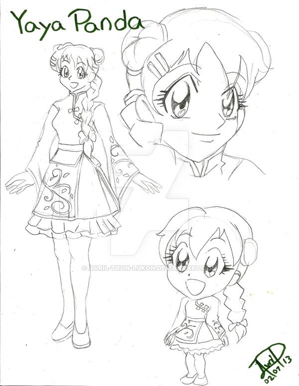600x774 Yaya Panda ( Anime Human Version) By Avril Tron Lukon