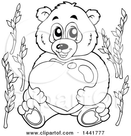 450x470 Royalty Free Vector Clip Art Illustration Of A Coloring Page