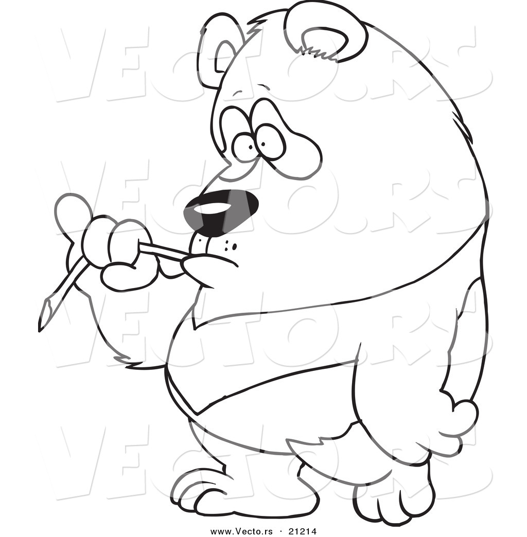 panda bear line drawing at getdrawings com free for personal use