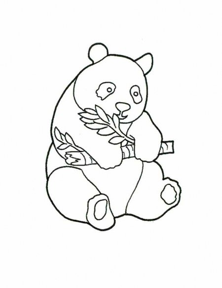 450x583 Coloring Pages Draw A Cartoon Panda Picture Of Happy Halloween