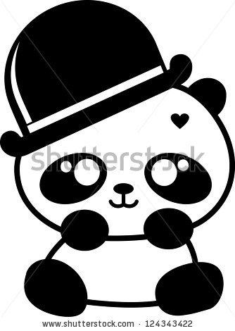334x470 Cute Pandas Cartoon