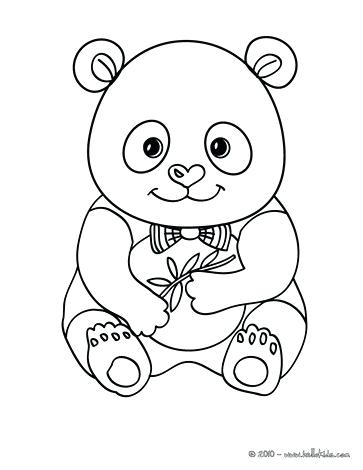 363x470 Coloring Pages Of Pandas For Website Inspiration Panda Coloring