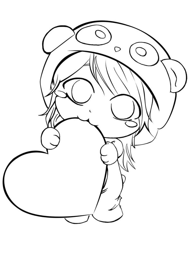 774x1032 Panda Heart By Kireyanna