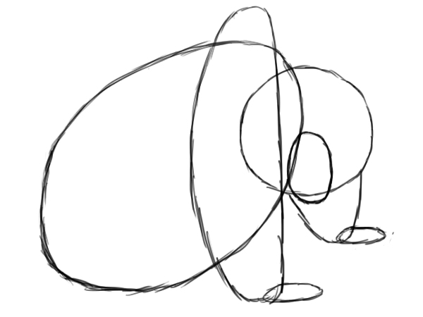 600x450 How To Draw A Panda