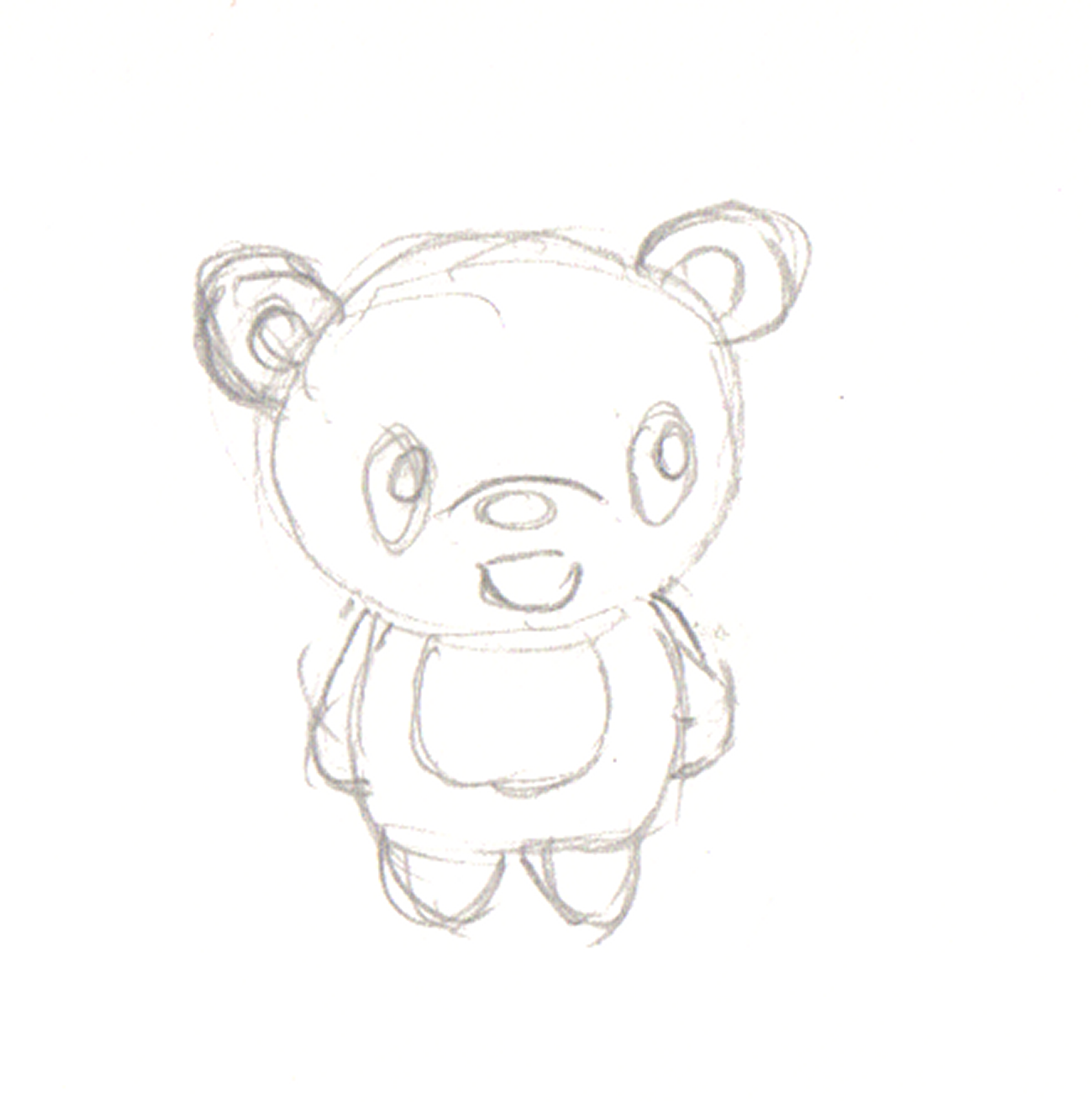 1586x1600 How To Draw Cartoons Panda