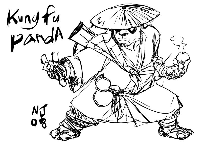 799x581 Kungfu Panda By Njay