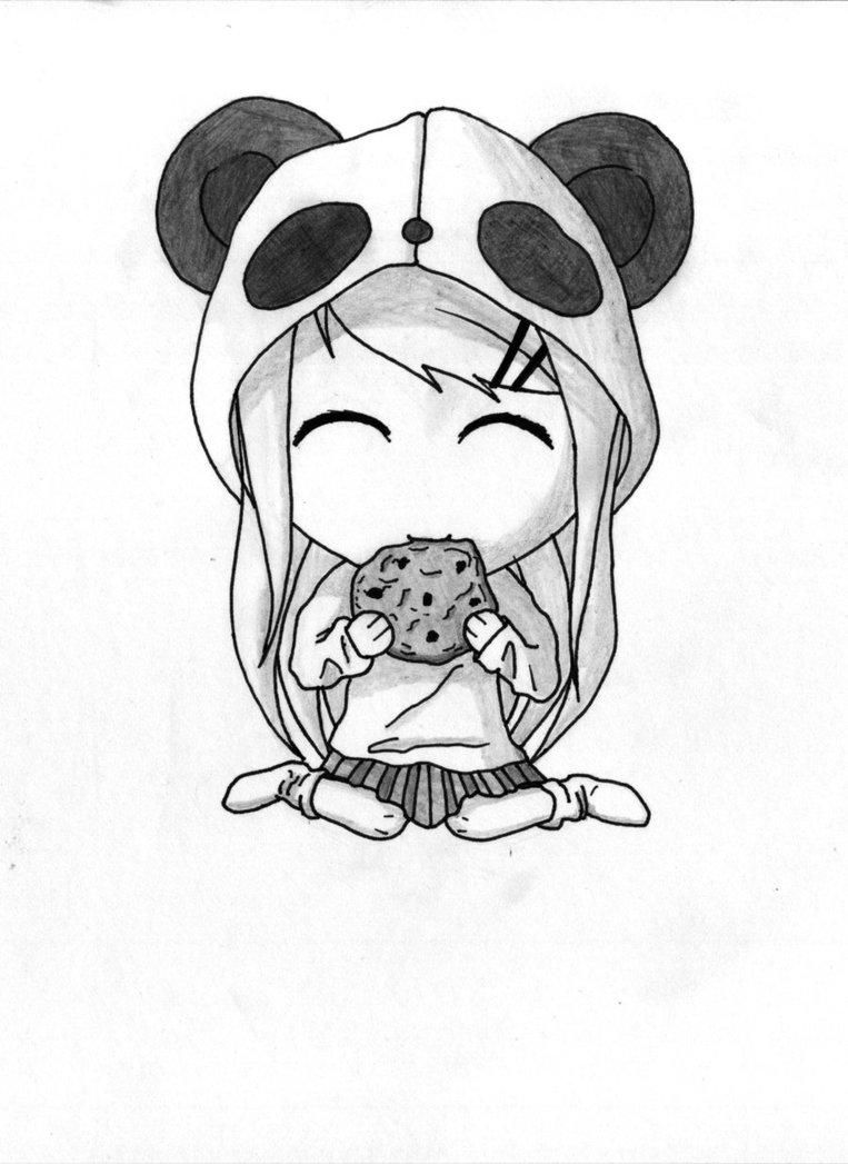 763x1047 Panda Chibi By X Trin X