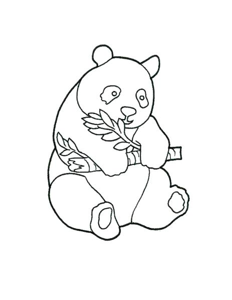 463x600 Panda Coloring Pages Also Panda Colouring Picture For Coloring