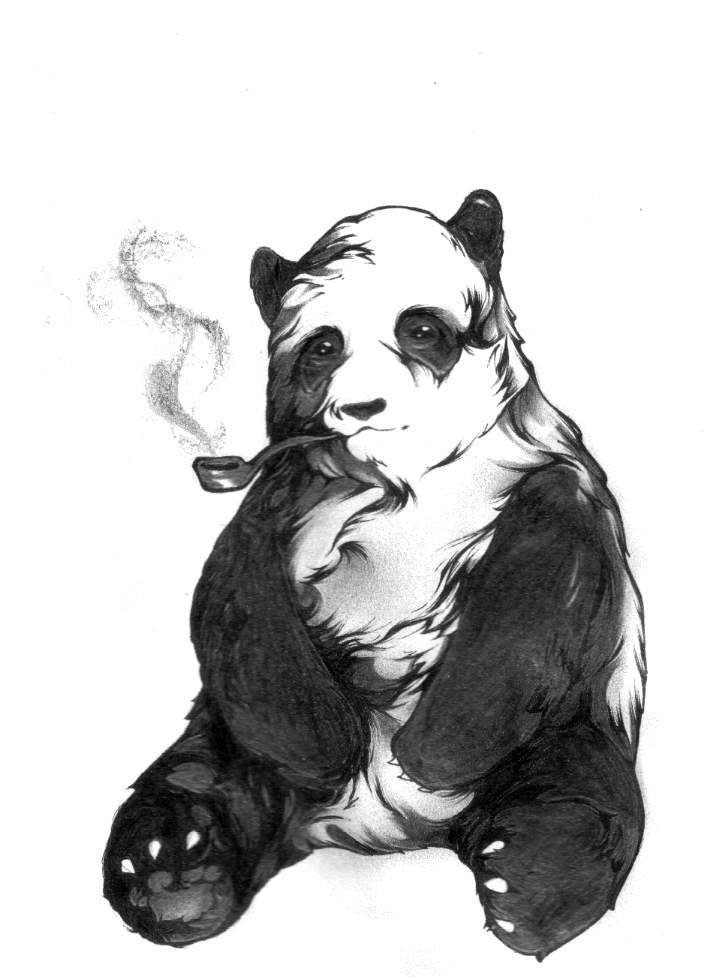 713x977 Panda Tattoo Designs