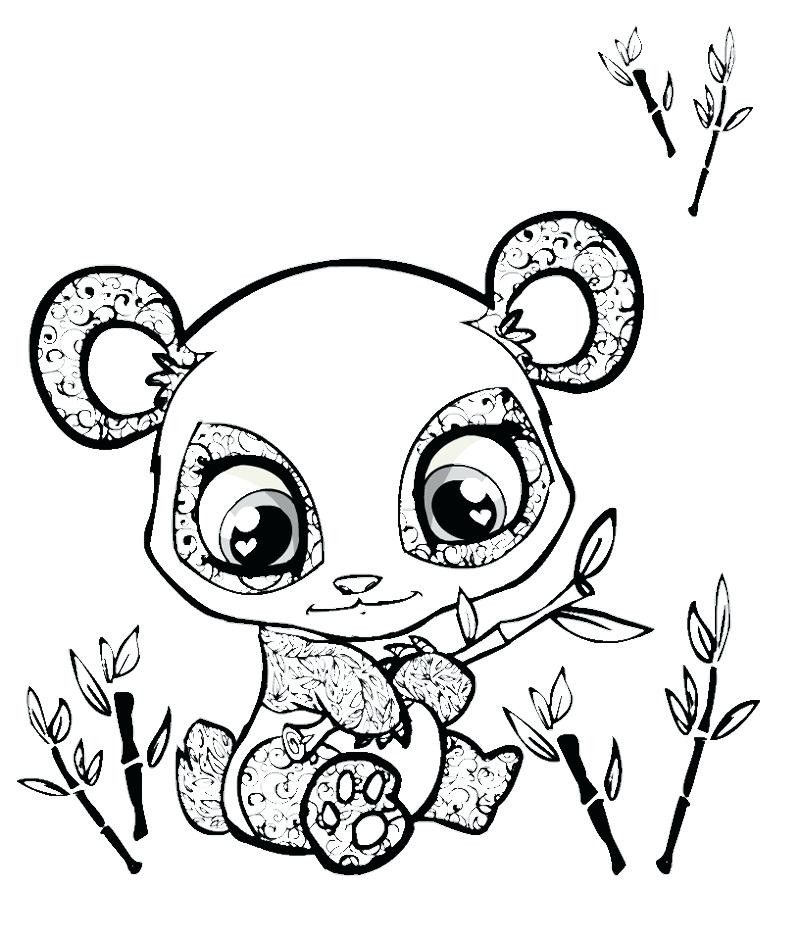 800x943 Panda Bear Coloring Pages Print Draw A Best Coloring Disney Book
