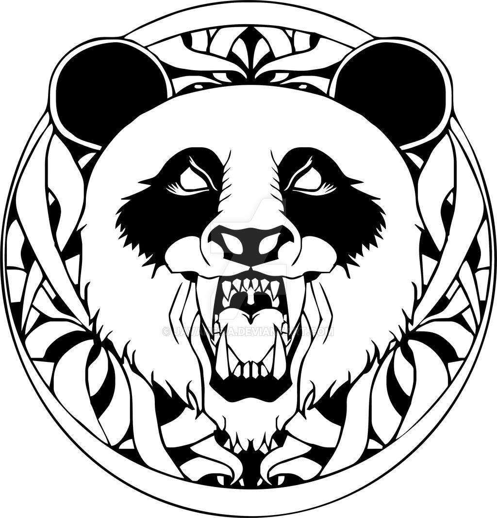 1024x1069 Graffiti Panda Drawing