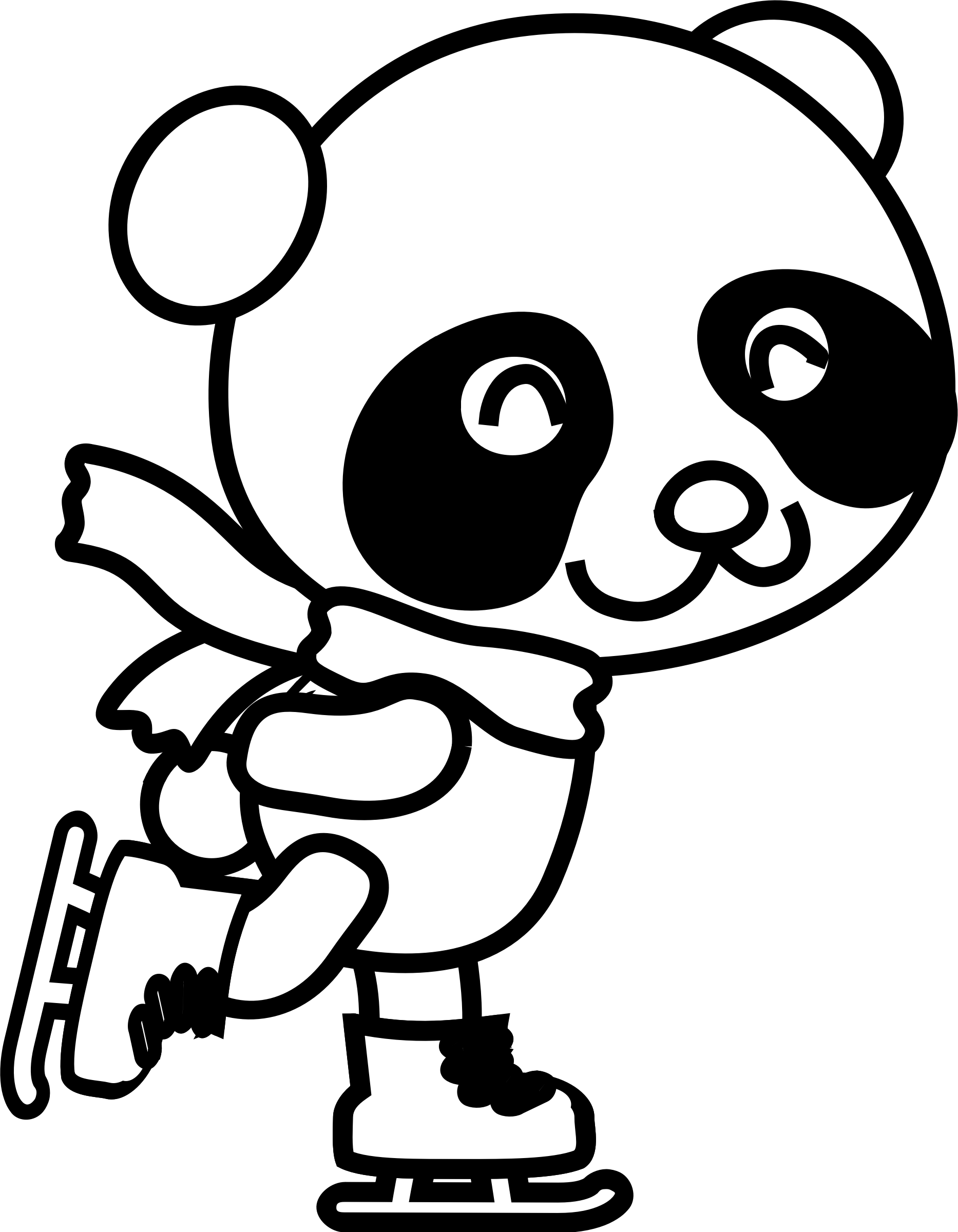 Panda Drawing Pictures At Getdrawings Com Free For Personal Use