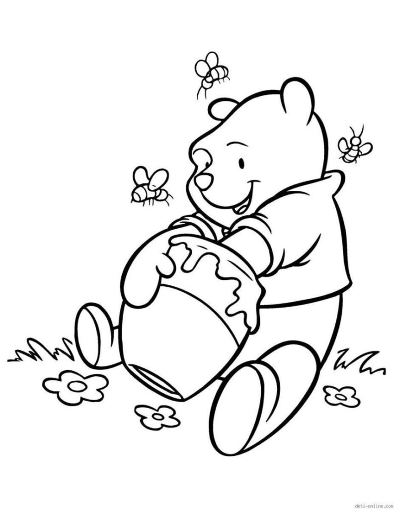 793x1024 Coloring Pages Draw A Cartoon Panda