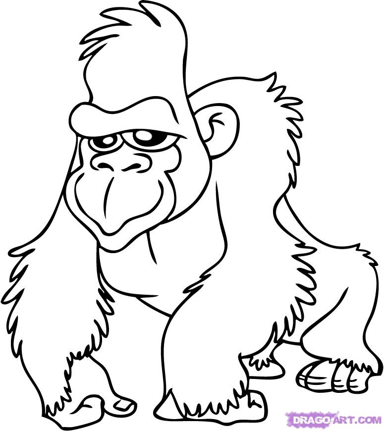 775x870 Coloring Pages Draw A Cartoon Panda