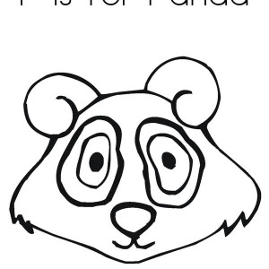 300x300 Big Fat Panda Eat Bamboo Coloring Page Big Fat Panda Eat Bamboo