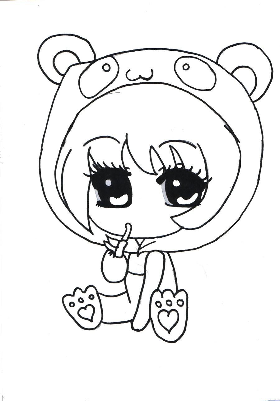 900x1289 Chibi Panda Coloring Pages Copy How To Draw A Chibi Panda Free