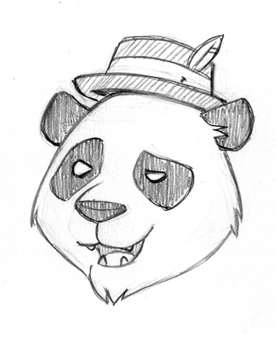 400x500 Panda Tom Yep, This Is What I Draw When I Can'T Sleep.