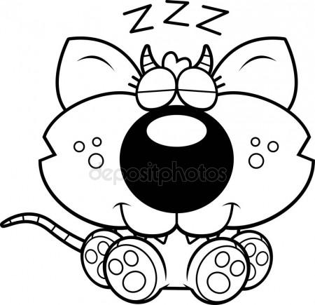 450x435 Black And White Vector Sketch Panda Face Stock Vector Tiverets
