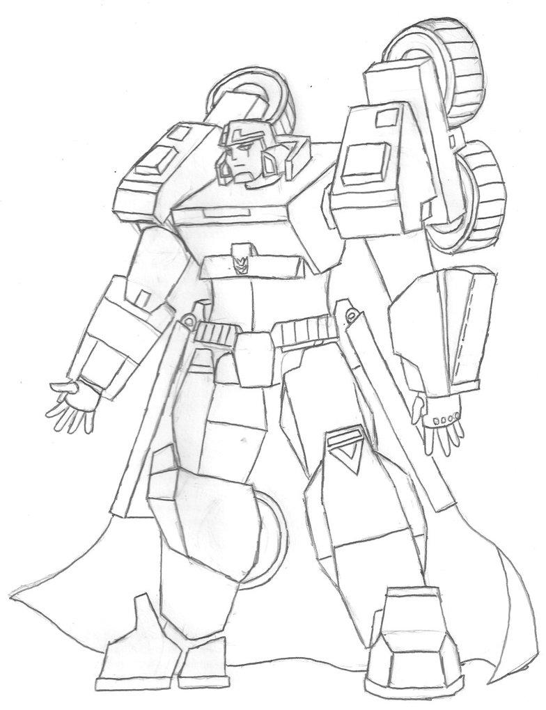 784x1020 Pencil Sketch Tcs Megatron Earth Mode By Redpanda451