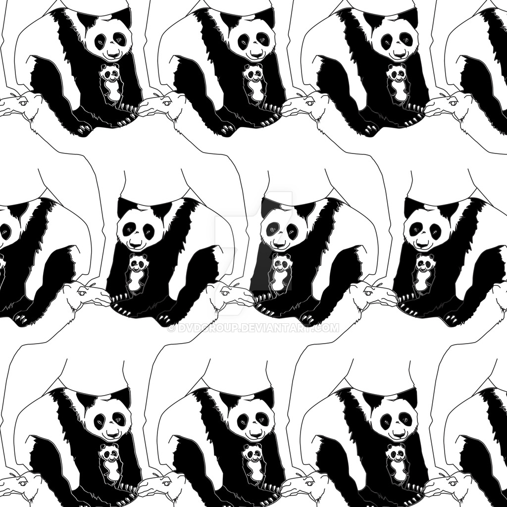 1024x1024 Camel And Pandas Tessellation 1 By Dvdgroup
