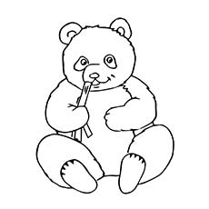 230x230 Panda Coloring Pages In Good Draw Printable Coloring Pages