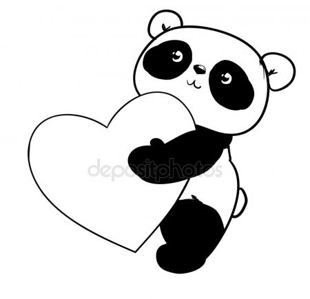 450x435 Panda Stock Vectors, Royalty Free Panda Illustrations