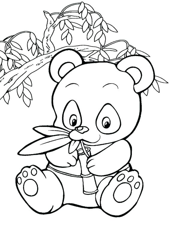 567x794 Giant Panda Coloring Pages Genesisar.co