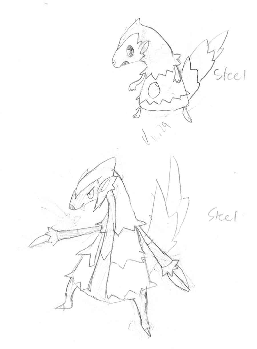 900x1222 Pangolin Fakemon Concept Art By Orbzap