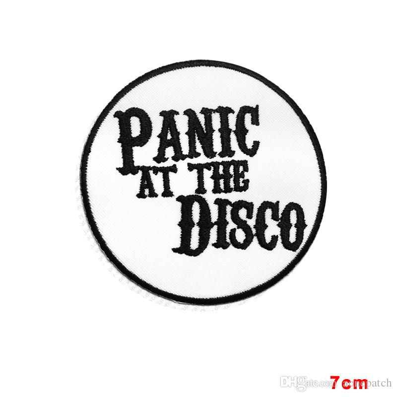 800x800 2018 Panic At The Disco Rock Goth Punk Music Band Embroidered Sew