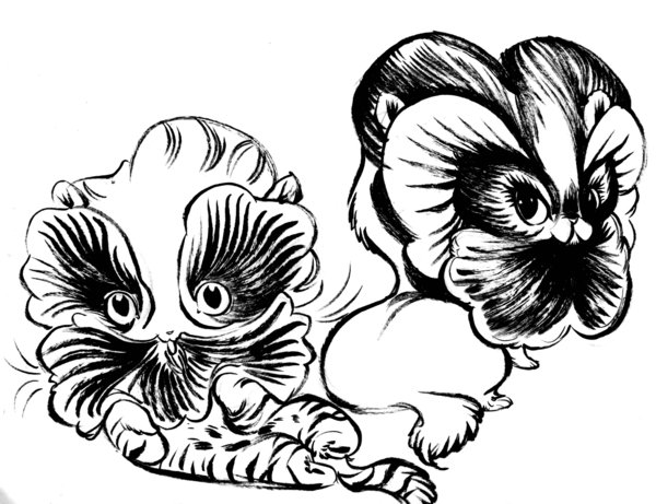 600x461 Pansy Kittens By Pocketowl