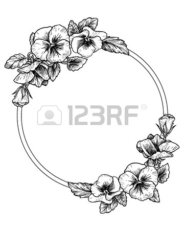 360x450 2,655 Pansy Stock Illustrations, Cliparts And Royalty Free Pansy