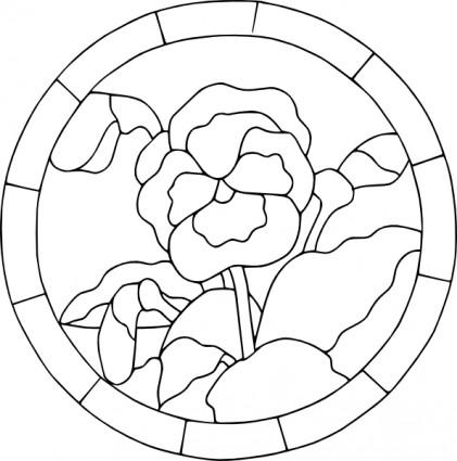 421x425 Pansy Violets Clip Art Vector Clip Art Free Vector Free Download