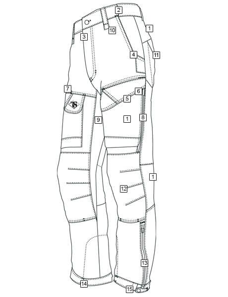 460x600 Men's 24 7 Pants Tru Spec Tactically Inspired Apparel