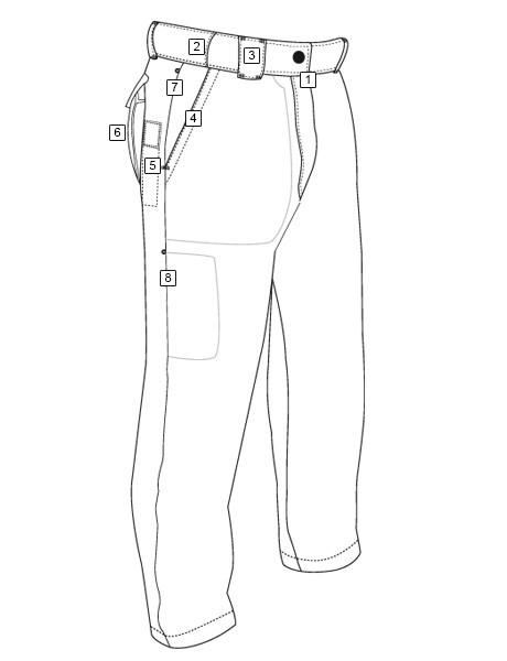 460x600 Tru Spec 247 Men's Classic Pant