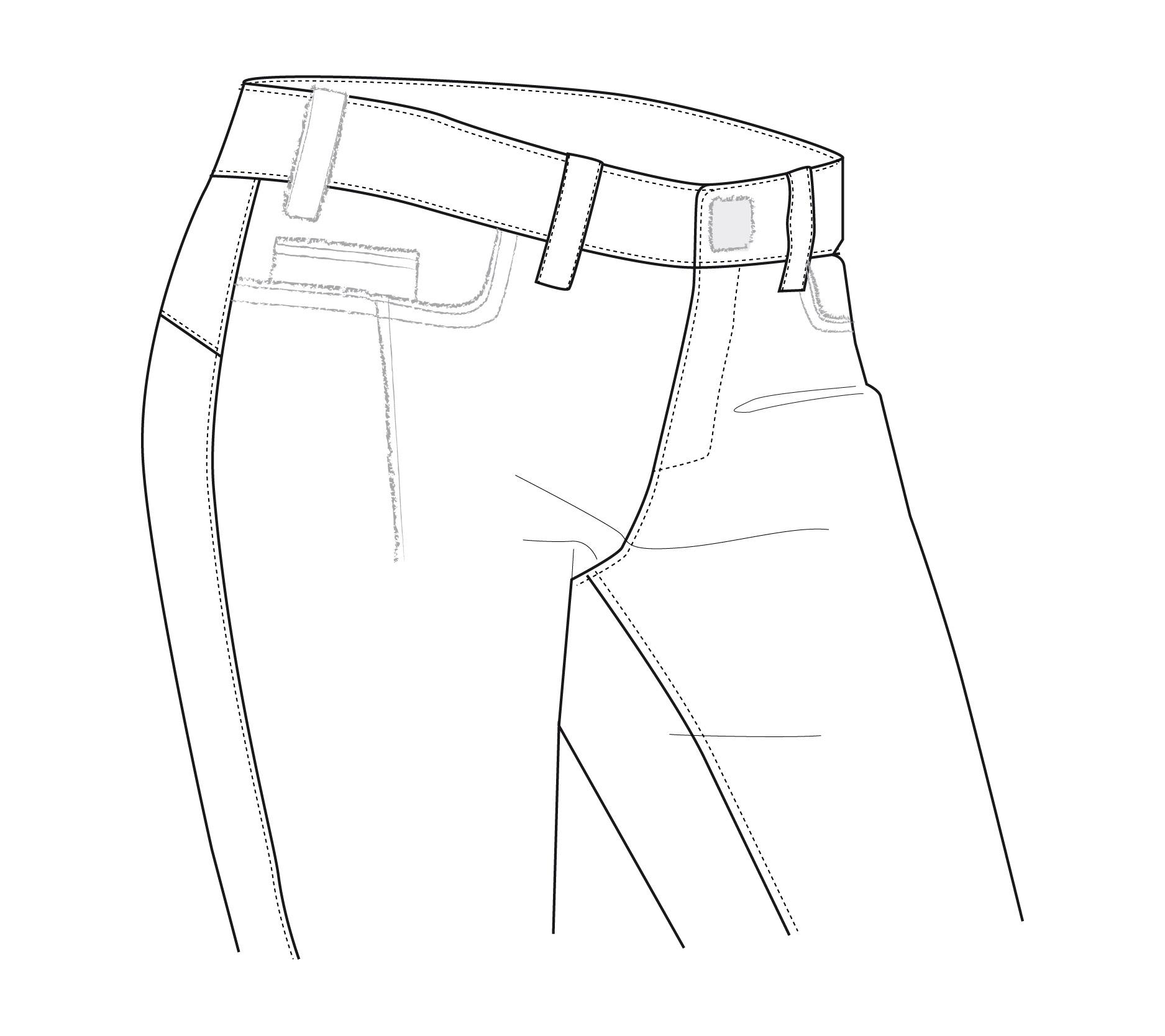 1875x1667 W Straight Pant