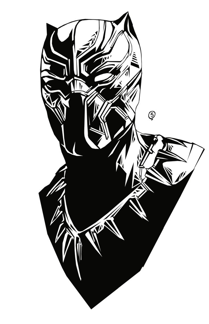 736x1137 Black Panther Drawing Best Black Panther Drawing Ideas