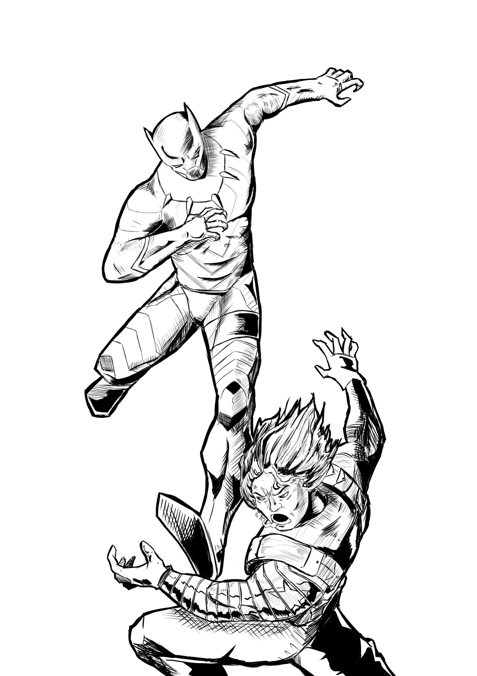 1920x2719 Pin Drawn Panther Chibi 2. How To Draw The Black Panther