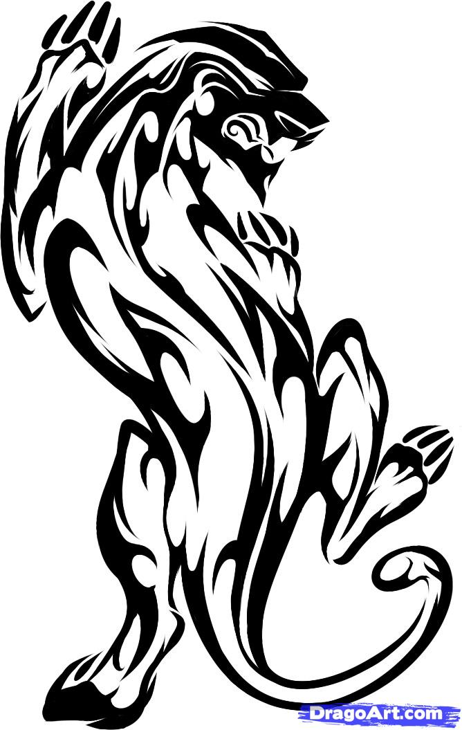 668x1055 Image Result For Black Panther Tattoos Desktop