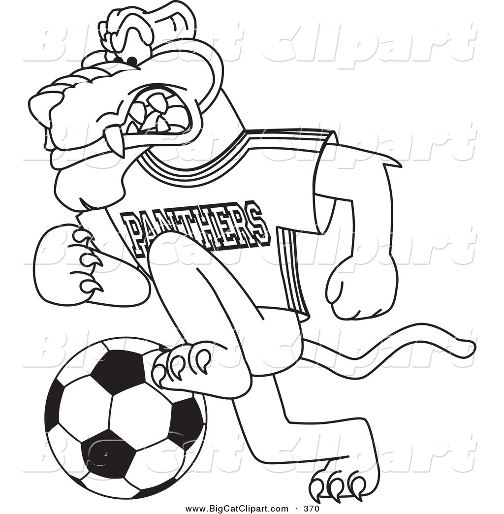 1024x1044 Big Cat Cartoon Vector Clipart Coloring Page Outline