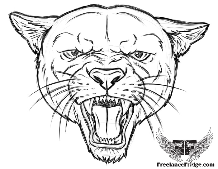 700x545 Cougar Coloring Pages